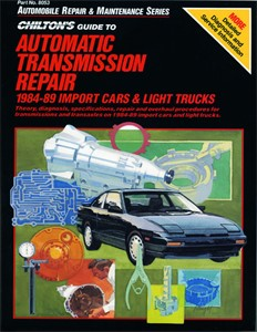 Automatic Transmission Repair 1984 - 91, Universal