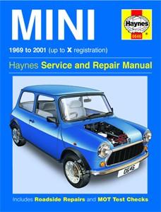 Haynes Reparationshandbok, Mini, Universal