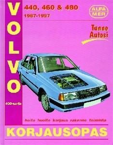 Haynes Reparationshandbok, Volvo 440, 460 ja 480 vm 1987-97, Universal