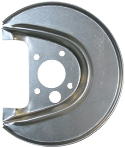 Brake Backing Plate, Left rear