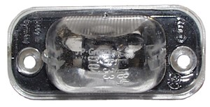 Licence Plate Light, Left or right