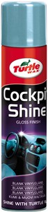 Cockpit Shine, muovipintojen kirkaste, spray 400 ml, Universal