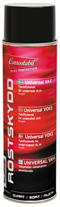 Universalvoks svart spray 500 ml, Universal