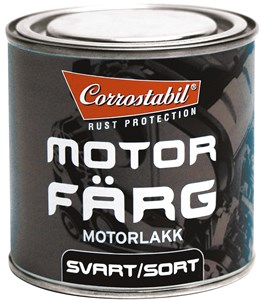 Motorlakk svart boks 250 ml, Universal