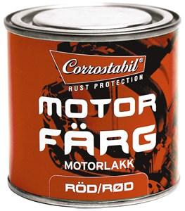 Motorfärg röd burk 250 ml, Universal