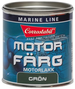 Marin Motorfärg grön burk 250 ml, Universal