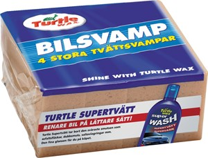 Vaskesvamp, 4-pakning, Universal