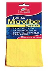 Mikroklut interiør gul 40 x 40 cm, Universal