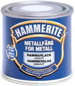 Hammerlakk gråhvit boks 750 ml, Universal
