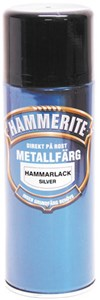 Hammerlakk gråhvit spray 400 ml, Universal
