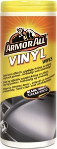 Vinyl våtservetter Blank, Universal