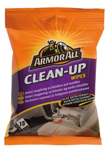 Clean-Up Wipes flatpack 15 st, Universal