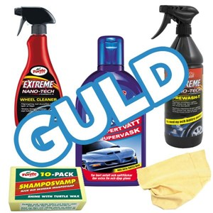 Washing kit, gold, Universal