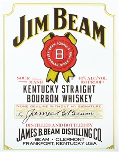 Kyltti/Jim Beam White Label, Universal