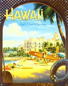 Plåtskylt/Erickson- Hawaii S&S, Universal