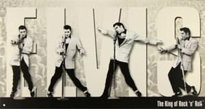 Plåtskylt/Elvis King Montage, Universal