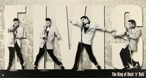 Blikkskilt/Elvis King Montage, Universal