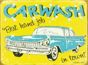 Blikkskilt/Moore -Carwash, Universal