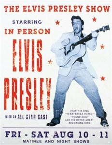 Plåtskylt/Elvis Presley Show, Universal