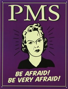 Blikkskilt/PMS -Be afraid, Universal