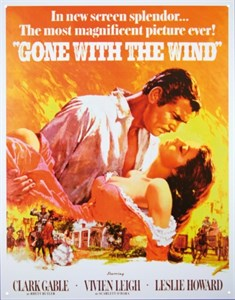 Kyltti/GWTW Movie poster, Universal