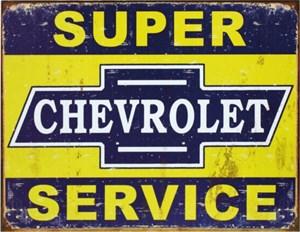 Kyltti/GM Super Chevy Servi, Universal