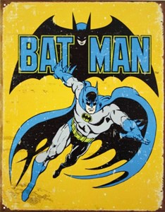 Plåtskylt/Batman Retro, Universal