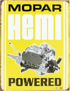 Kyltti/Mopar -Hemi Powered, Universal