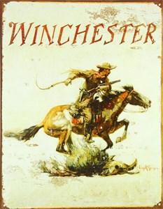 Plåtskylt/Winchester Logo, Universal