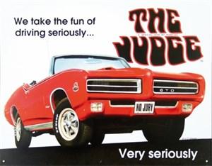 Kyltti/Pontiac GTO -The Jud, Universal