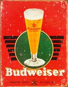 Kyltti/Budweiser Retro glas, Universal