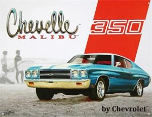 Kyltti/Chevy Chevelle 350, Universal