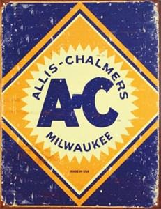 Kyltti/Allis Chalmers Logo, Universal