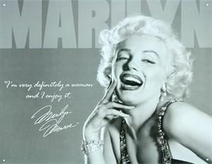 Blikkskilt/Marilyn Monroe Defin, Universal