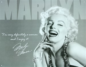 Plåtskylt/Marilyn Monroe Defin, Universal