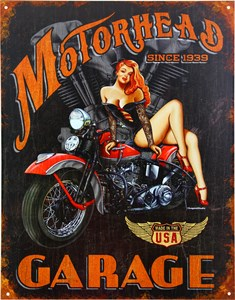 Kyltti/Motorhead Garage, Universal