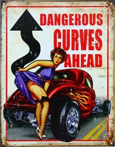 Plåtskylt/Dangerous Curves, Universal