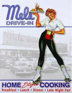 Kyltti/Mel's Drive In, Universal