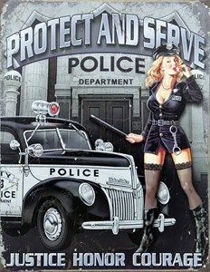 Kyltti/Protect and Serve, Universal