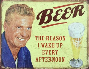 Blikkskilt/Beer, Universal