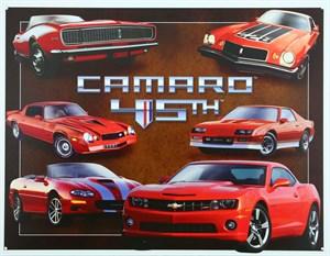 Plåtskylt/GM Chevy Camaro 45th, Universal