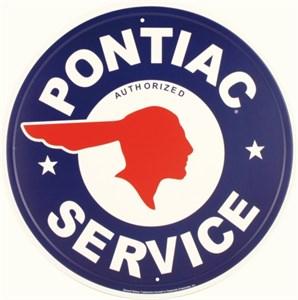 Plåtskylt/GM Pontiac Service, Universal