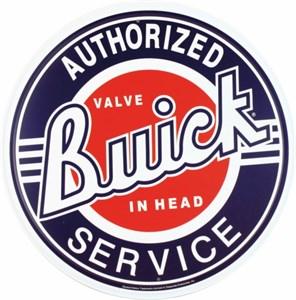 Bildel: Plåtskylt/GM Buick Service, Universal