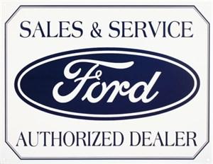 Plåtskylt/Ford Logo, Universal