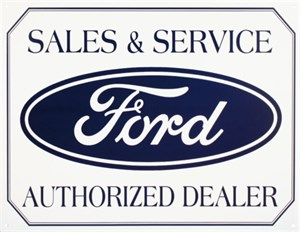 Kyltti/Ford Logo, Universal