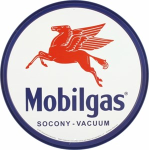 Plåtskylt/Mobilgas Pegasus, Universal