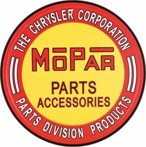 Plåtskylt/Mopar Parts, Universal