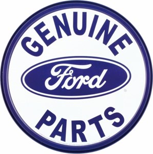 Blikkskilt/Ford Genuine parts, Universal