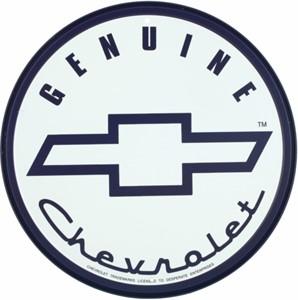 Bildel: Plåtskylt/GM Genuine Chevrolet, Universal