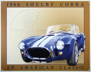 Bildel: Plåtskylt/Shelby Cobra, Universal